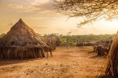Cuadro Hamer village near Turmi, Ethiopia