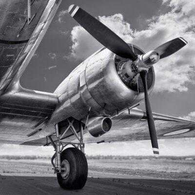 Cuadro Hélice de un avión