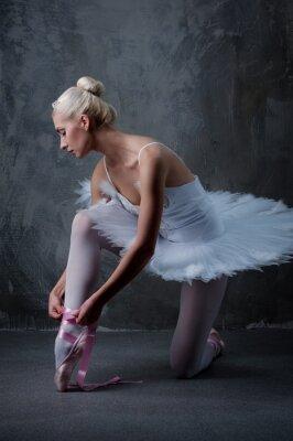 Cuadro Hermosa bailarina de ballet