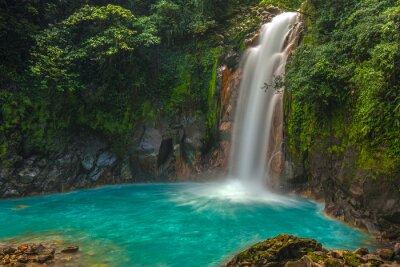 Cuadro Hermosa Cascada de Río Celeste