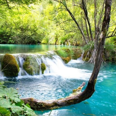 hermosas waterfals de Plitvice lago