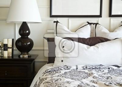 hermosos diseños de pared de dormitorio Hermoso Diseo Interior Dormitorio Pinturas Para La Pared