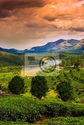 hermosas fotos de la casa en kerala Hermoso Paisaje De La Montaa Y El Ro En La India Kerala