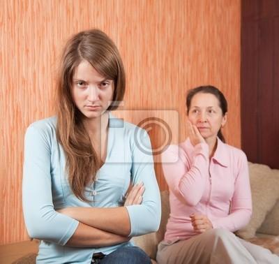 hija y madre tener disputa