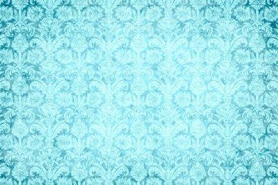 Cuadro hintergrund - blauer prunk
