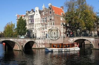 Cuadro Histórico touringboat Amsterdam