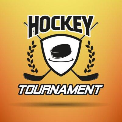 Cuadro Hockey Label