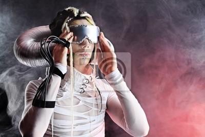 hombre futurista