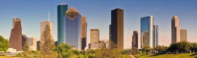Cuadro Horizonte de Houston