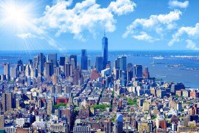 Cuadro Horizonte de Manhattan