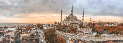 Cuadro Horizonte de panorámica de la ciudad - Estambul