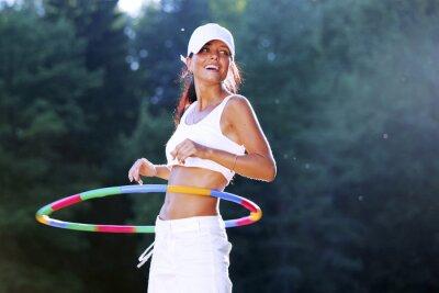 Cuadro hula hoop