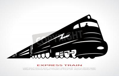 Cuadro Icono del tren