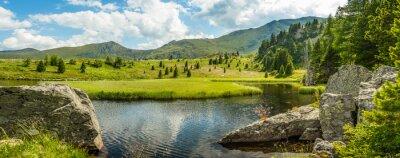 Cuadro Idílico paisaje de verano
