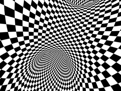 Cuadro Ilusión abstracta