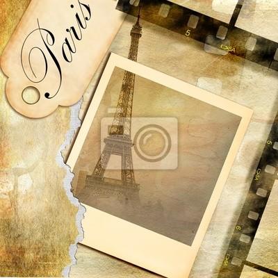 Imágenes de París - álbum de fotos de época