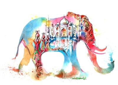 Cuadro India