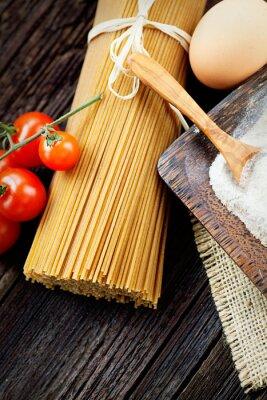 Cuadro Ingredientes de la pasta