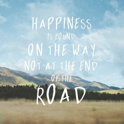 Cuadro Inspirational motivational quote