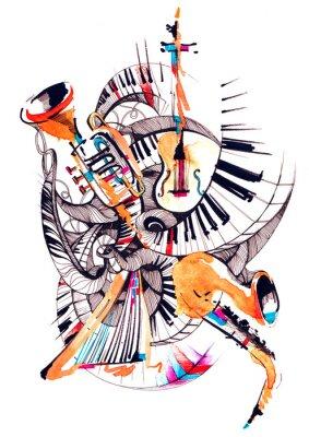 Cuadro instrumentos musicales