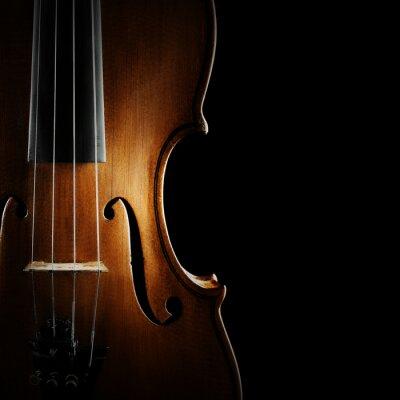 Cuadro Instrumentos musicales de la orquesta Violín