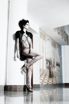 Cuadro interior de la moda