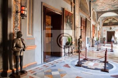 Interior del Palacio de Caballero