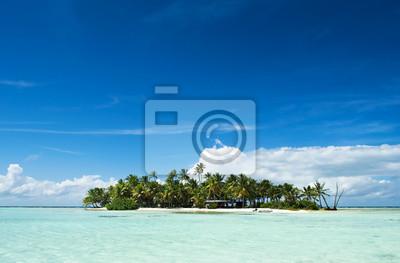 Isla deshabitada en el Pacífico