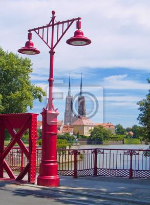 isla Tumski, Wroclaw, Polonia