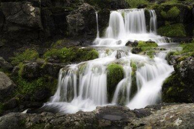 Cuadro Islandia Cascada