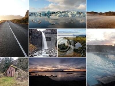 Islandia imagen Collage
