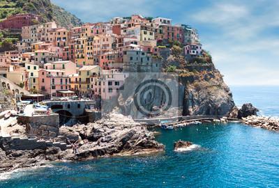 Italia. Región de Cinque Terre. Aldea de Manarola