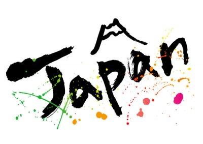 Cuadro japan_moji_color