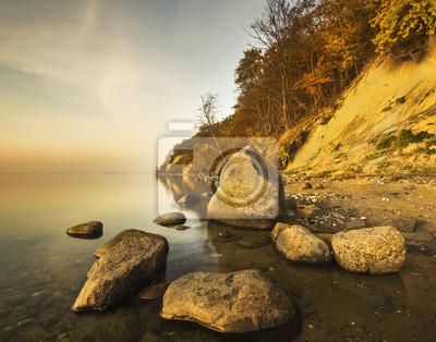 Jesienny, morski Klif