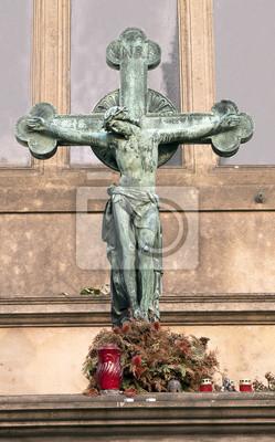Jesucristo En La Cruz Pinturas Para La Pared Cuadros Crucificado