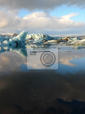 Jokulsarlon, laguna del glaciar