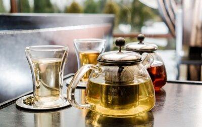 Cuadro juego de té