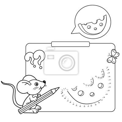 Cuadro Juegos Educativos Para Niños Juego De Números Queso Dibujo