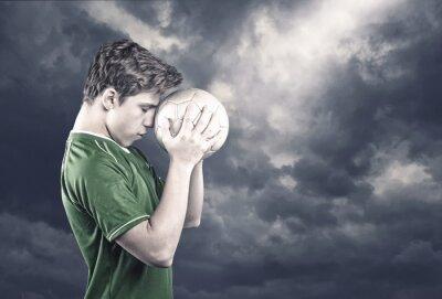 Cuadro Jugador de fútbol