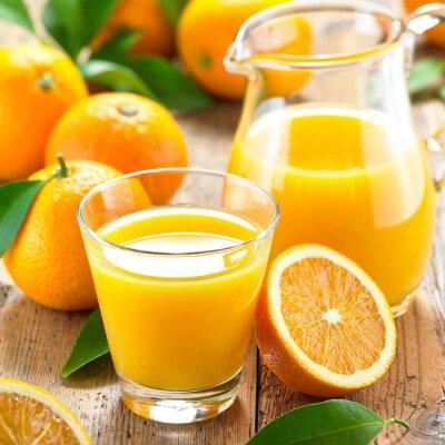 Cuadro Jugo de naranja
