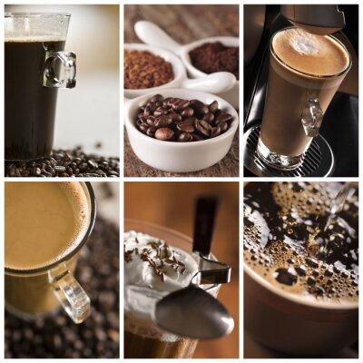 Cuadro Kawa - kolaż