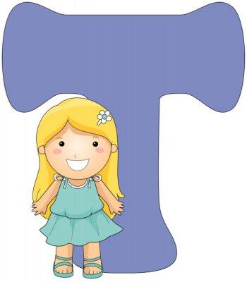 Cuadro Kiddie Alphabet