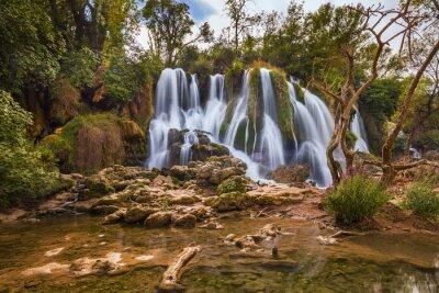 Cuadro Kravice cascada en Bosnia y Herzegovina