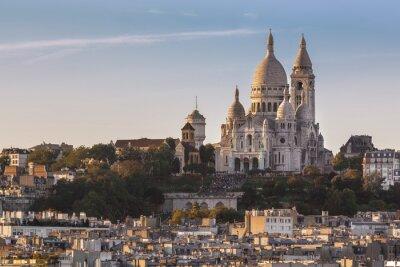 Cuadro La Basílica del Sacré Cœur de Montmartre