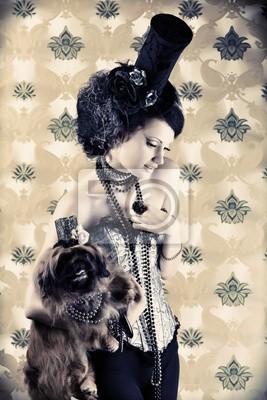 la belleza y el perro