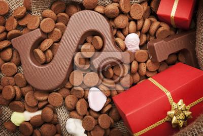 La bolsa de golosinas, de vacaciones tradicional holandesa 'Sinterklaas'