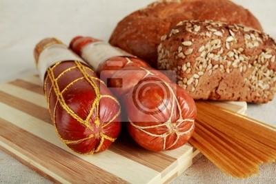 la carne y el pan