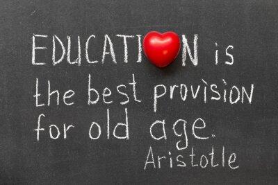 Cuadro la educación es