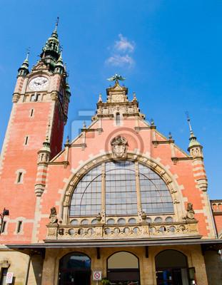 la estación central de tren, Gdansk