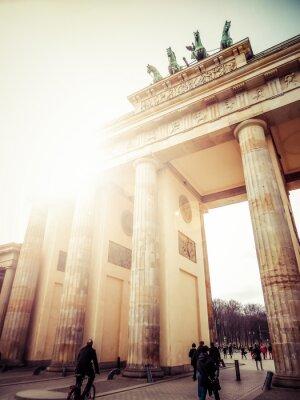 Cuadro La Puerta de Brandenburgo, Berlín